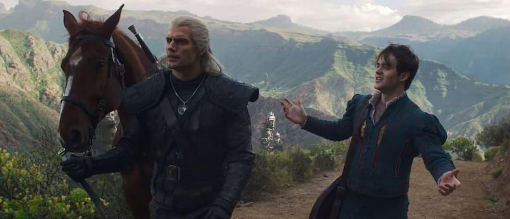 Лютик и Ведьмак