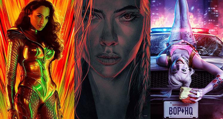 Супергеройские фильмы 2020