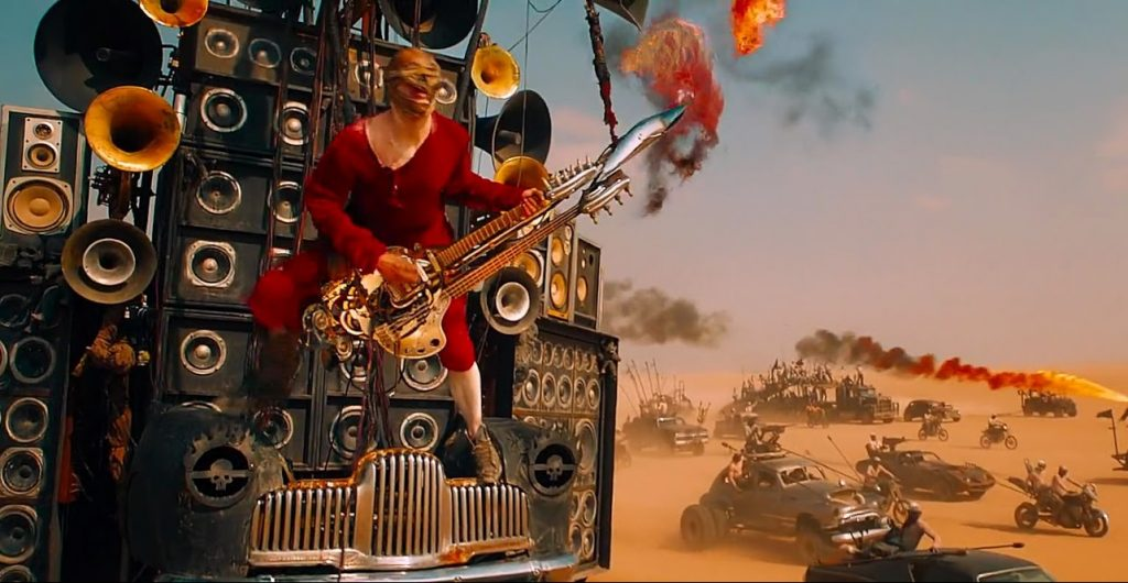 Гитариста из Безумного Макса