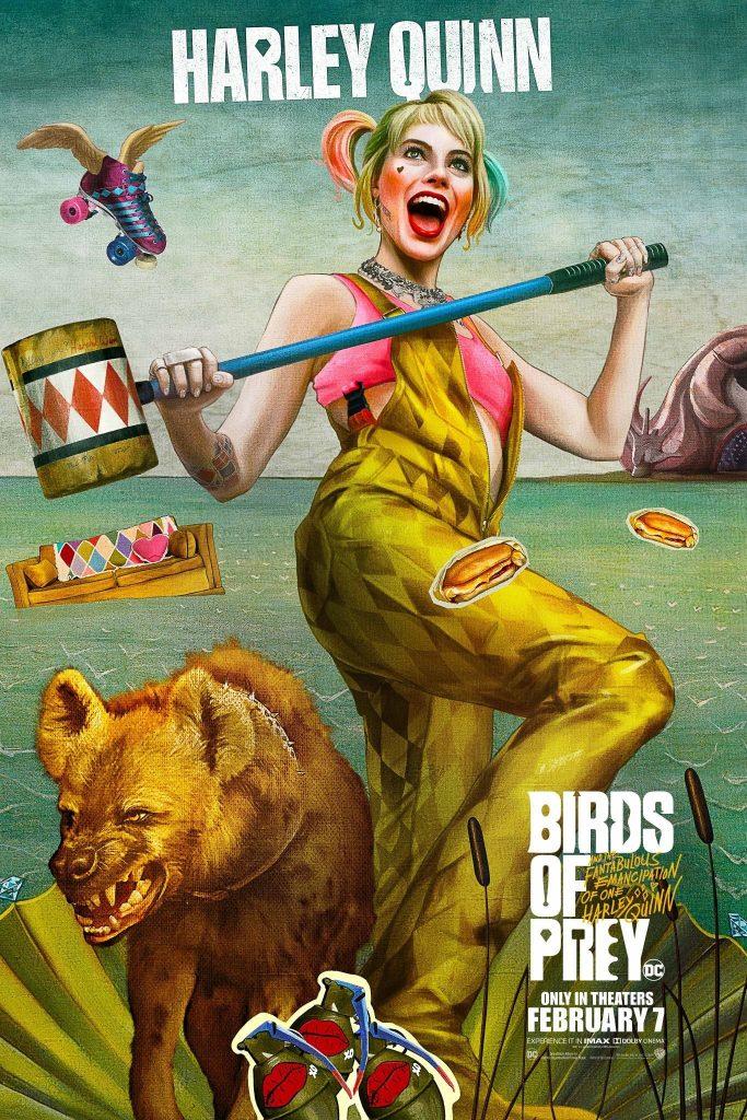 Хищных птиц - Харли Квинн