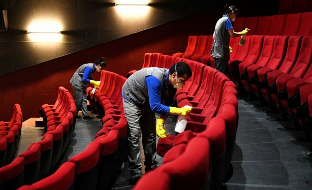 Кинотеатры закрыты