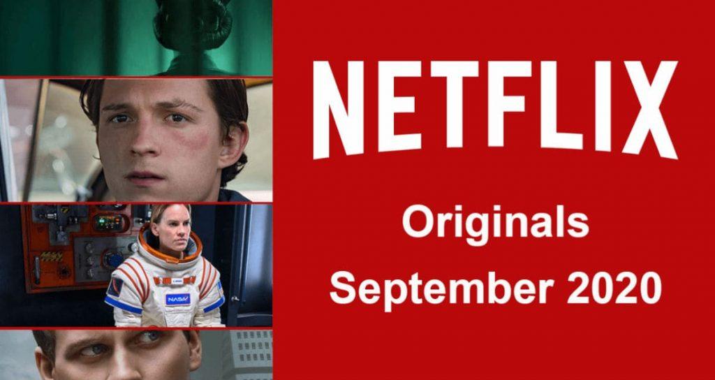 Netflix сентябрь 2020