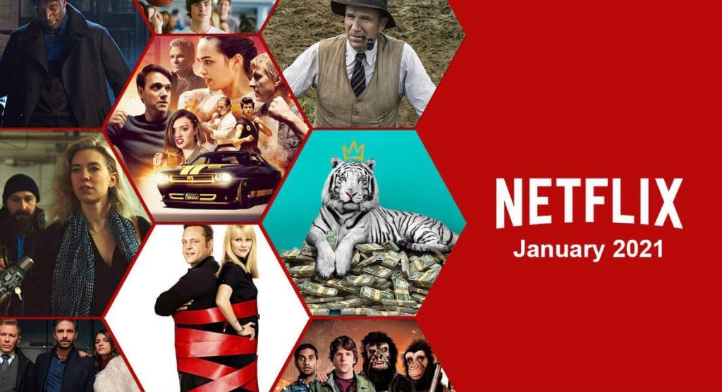 Netflix в январе 2021