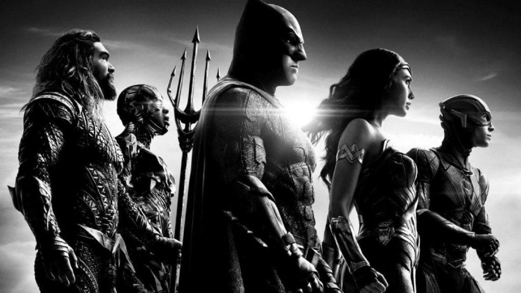 черно-белая Лиги справедливости