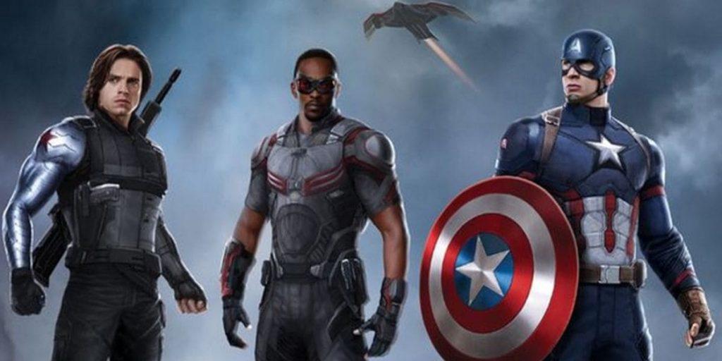 Сокол и Капитан Америка