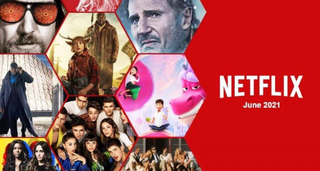 Netflix в июне 2021