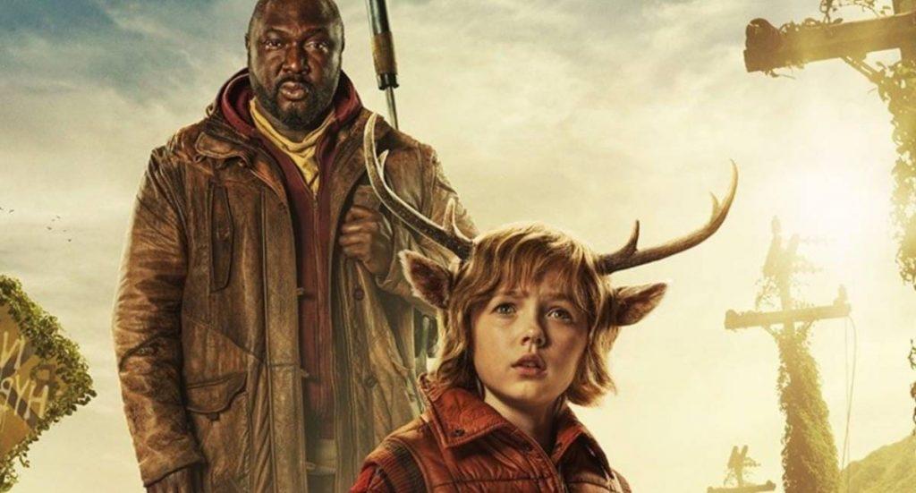 Мальчик с оленьими рогами