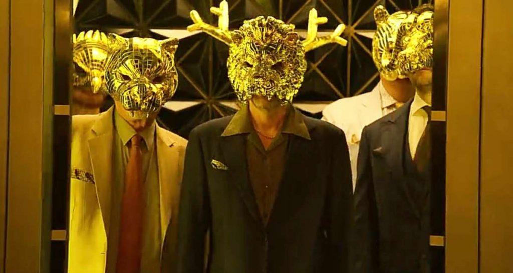 золотые маски в игре кальмара