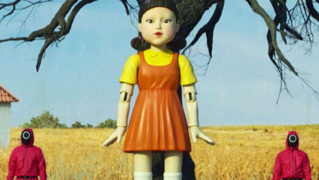 Кукла из Игры в кальмара